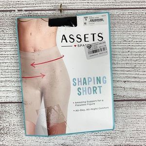 Assets by Spanx Black Shaping Short